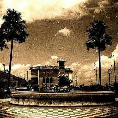 Praça do pescador década de 40. Belém