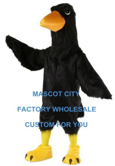>> Click to Buy << Carnival Mascot Black Big Bird Raven Mascot Costume Adult Size Cartoon Character Outfit Suit Fancy Dress Cosply Costumes SW808 #Affiliate