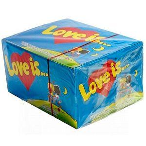 Жевательная резинка «LOVE IS» (клубника-банан)