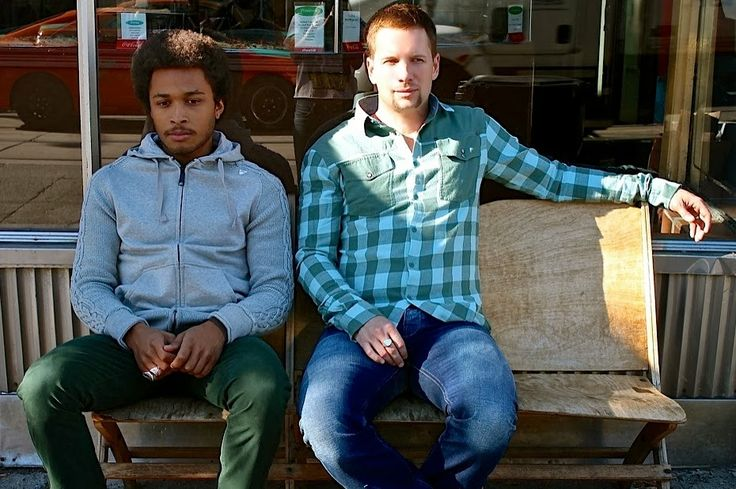 Leigh and Harlow guys look awesome in their GSUS brand shirts and Jeans