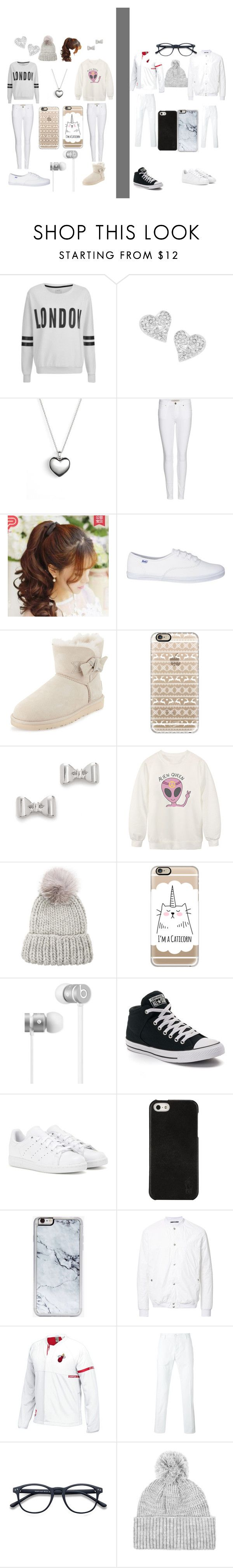 """""""WINTER FAMILY"""" by tinkbel on Polyvore featuring beauty, ONLY, Vivienne Westwood, Pandora, Burberry, Pin Show, UGG Australia, Casetify, Marc by Marc Jacobs and Chicnova Fashion"""
