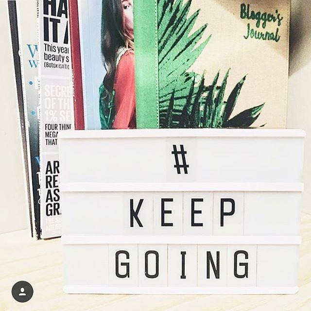 Some Thursday motivation from blogger @mixedxmetals 💕