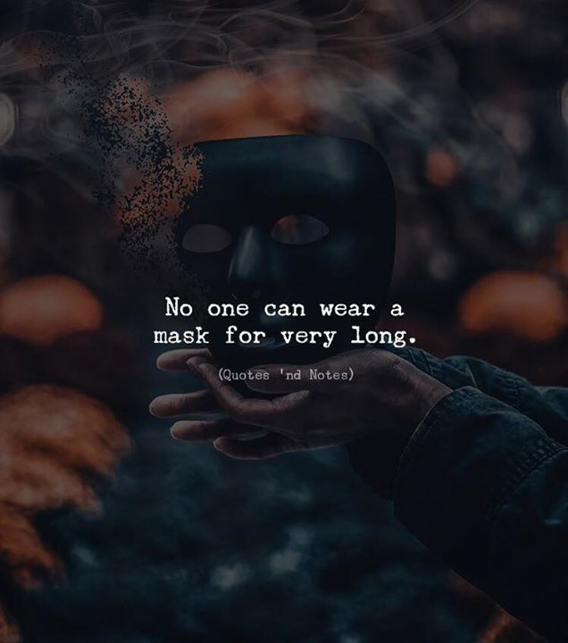No one can wear a mask for very long. via (http://ift.tt/2kvlxlo)