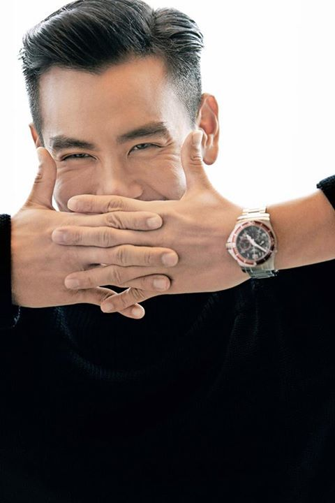 Eddie Peng August Man With Longines Favorite Martial