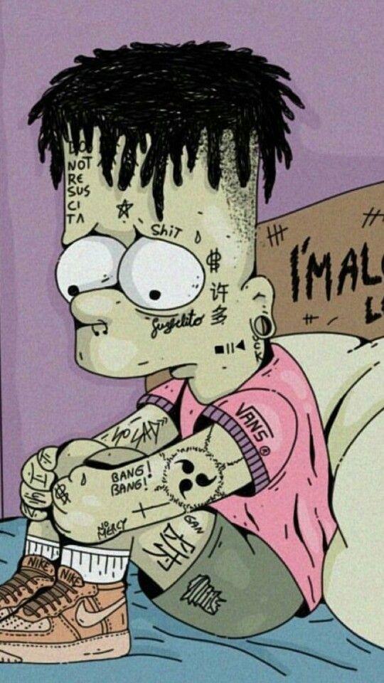 Bart Simpson - little bit different