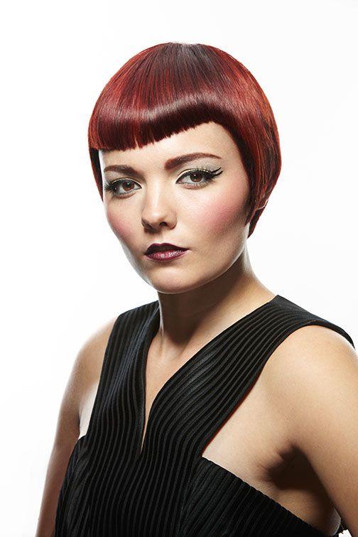 Award winning red hair from Lisa Power Salon, Seattle.