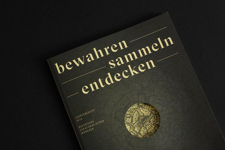 """Popatrz na ten projekt w @Behance: """"Jahresbericht 2014 – Bayerische Staatsbibliothek"""" https://www.behance.net/gallery/41756487/Jahresbericht-2014-Bayerische-Staatsbibliothek"""
