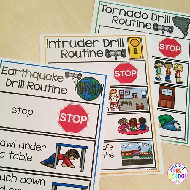 Safety drill routine posters and read alouds (aka social stories). Some schools use the term Lock Down Drill so I made the Intruder Drill book and routine posters EDITABLE! Help make drills less stressful and more manageable for your early childhood and special ed students.