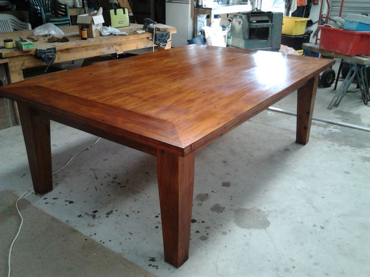 Recycled Kauri 10 seater dining table