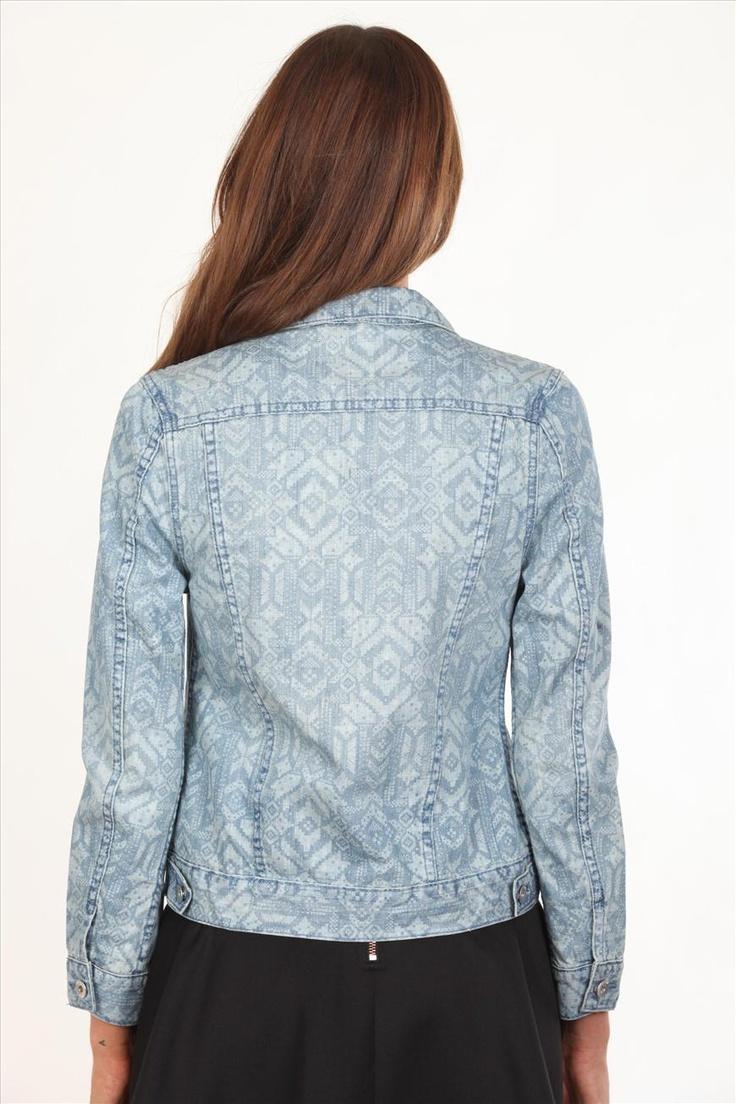 Print design for Aztec Moto Jacket | Cotton On