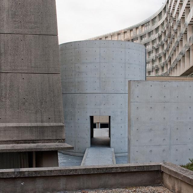 Espaço de meditação na UNESCO de Paris, França by Pedro Kok, via Flickr