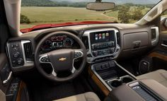 2018-Chevrolet-Silverado-1500-interior-dashboard