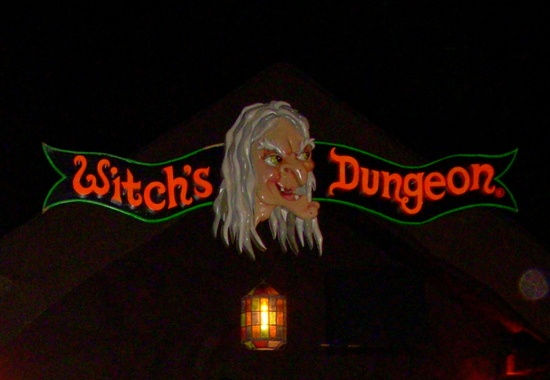 BRISTOL, CONNECTICUT  WITCH'S DUNGEON -  A seasonal movie monster museum featuring wax creations by a relative of one of the original Universal Studios monsters
