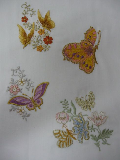 Butterfly 1 set - Zundt designs