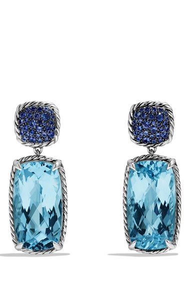 David Yurman 'Chatelaine' Drop Earrings available at #Nordstrom #sterlingsilver #gemstoneearrings #gifts http://shop.nordstrom.com/s/david-yurman-chatelaine-drop-earrings/3665341?origin=category-personalizedsort&contextualcategoryid=0&fashionColor=&resultback=1456