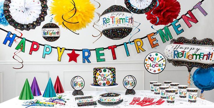 Retirement Themes for Party