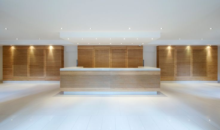 Commercial - Spaniards Park Reception Desk - TinTab - Contemporary, bespoke, design & manufacturing in Newhaven, East Sussex