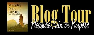 BLOG TOUR - Purpose by AL Daltrey   Blog Tour  Title  Purpose  Series  Pleasure Pain or Purpose: Book Three Author  Al Daltrey  Release Date  November 17 2016  Genre  Erotica Romance  Life is many things but one thing it isnt is predictable. At times pain weighs heavily on the heart and thenthe sky clears the ground shifts and happiness and pleasure return.  Billie finally emerges from her emotional slumber. She learns that while David is gone it doesnt mean that her life cant have…