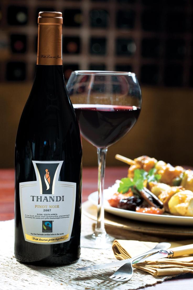 #Fairtrade Wine #SouthAfrica: Thandi Pinot Noir