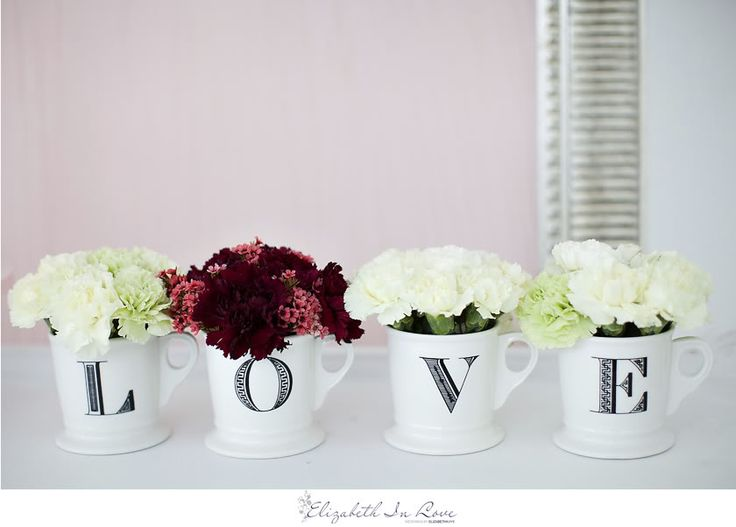 Anthropologie Love Mugs