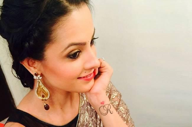 Anita Hassanandani's 'R' tattoo to be a part an integral plot in 'Yeh Hai Mohabbatein'.