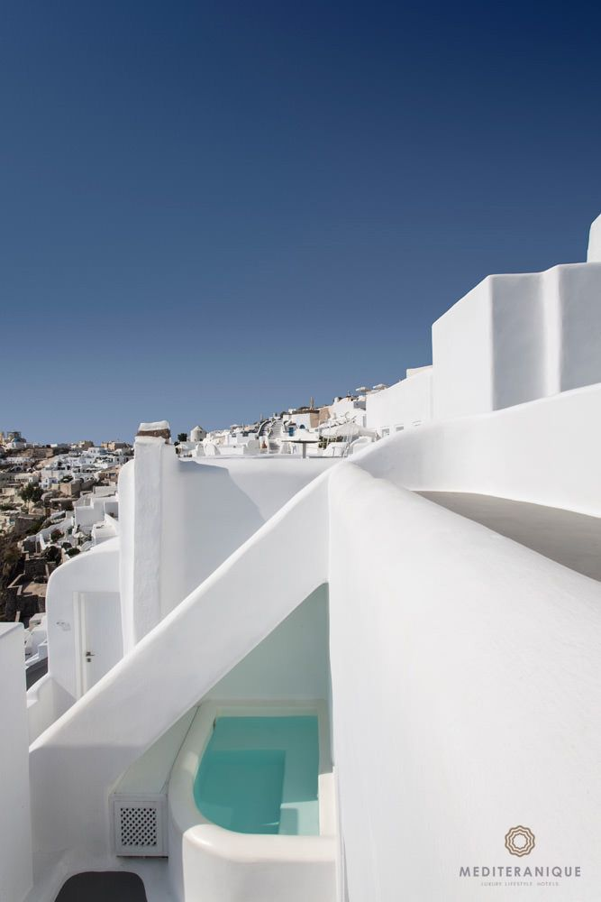 Whitewashed Exteriors Plunge Pools And Incredible Views Kirini