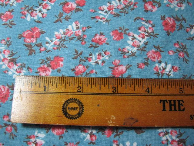 Vintage 1920s-30s fabric 34inches wide by 1&1/4 yards long by MajorVintageShop on Etsy