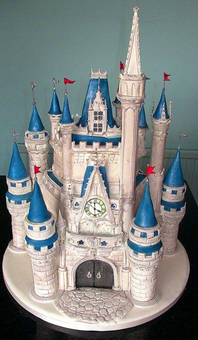 Disneyworld Birthday Cake Castle