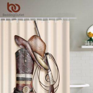 Western Shower Curtain Hooks