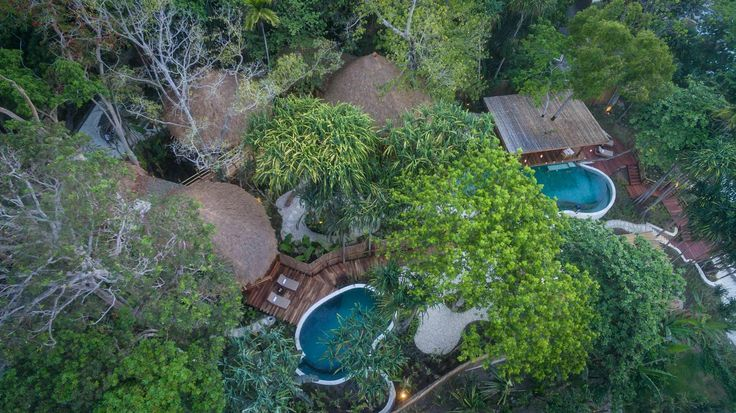 Mamole Tree House | 3 bedrooms | Sumba, Indonesia #swimmingpool #exterior #design #home #villa #sumba #luxury #drone #photo