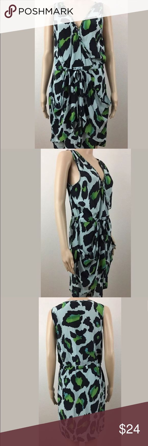 Charlie Jade Animal Print Silk Dress Size M Excellent condition. charlie Jade  Dresses