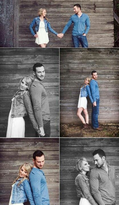 Great couple poses...but we don't have that height difference.