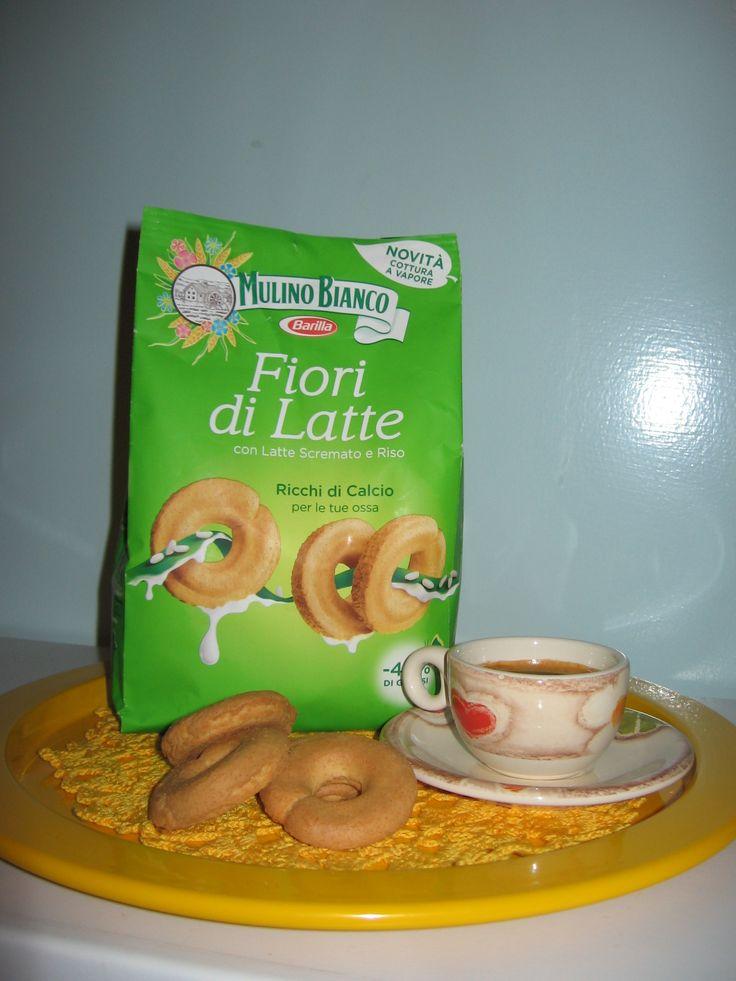 mulino bianco - fiori di latte - biscotti al latte scremato e riso