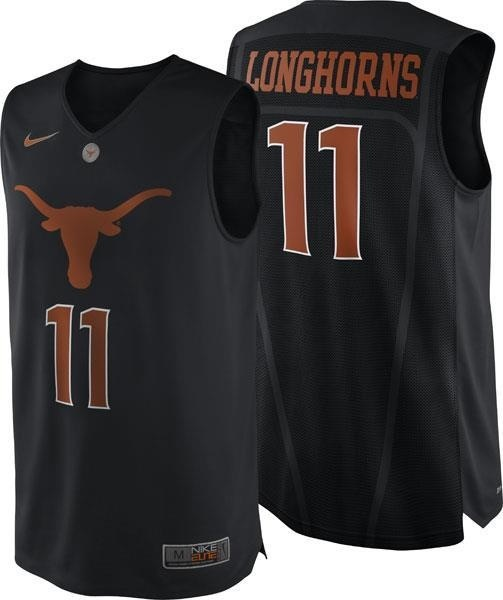 Texas Longhorns Black Men\\u0026#39;s Basketball Jersey   In style,YVNRJFQ673,