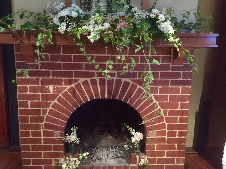 Fireplace in the Wine Room, BWG Functions