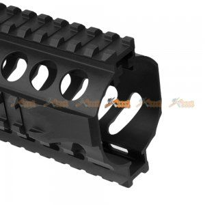 Fashion Defence Aluminum 9 Inch Short KRISS Rail for KWA KRISS VECTOR Airsoft GBB (Black) - AirsoftGoGo