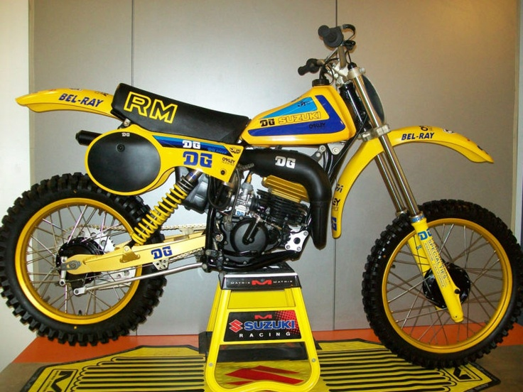 Tricked out DG Package Racer, 1980 Suzuki RM125