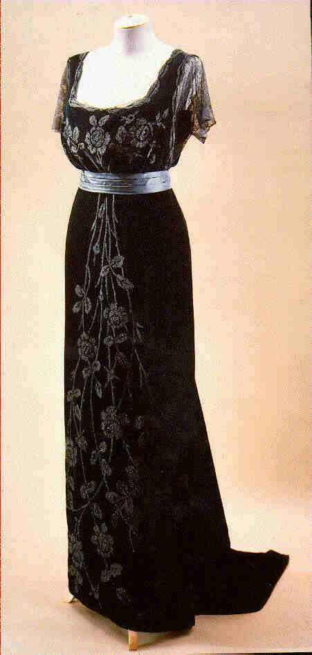Couturier:	 Doucet;   Type:	 Evening dress/ball gown/ensemble;   Country: 	 France;  Date:  c. 1908