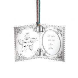 Newbridge Silverware Christmas Card Decoration
