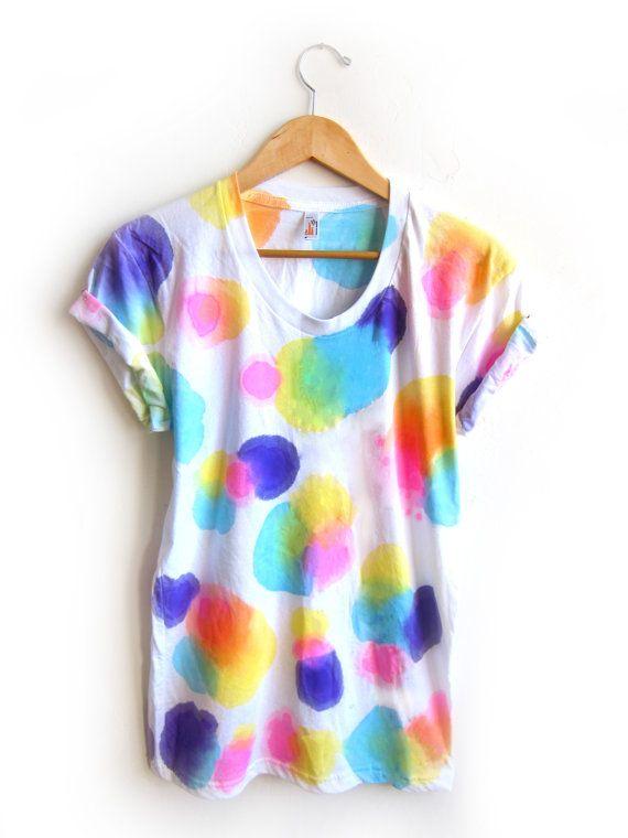 how to make splash dye tshirt