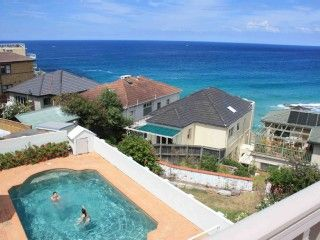 Ocean front Bondi and Tamarama Beach holiday home. Prices from $110 p/n sleeps 4. #sydney