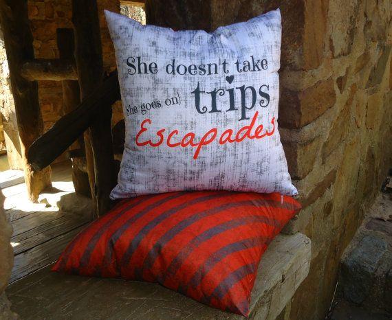 She Escapades reversible throw pillow set 16x16 by SheDecor, $27.99
