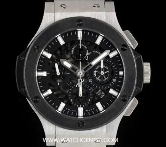 Hublot Stainless Steel Skeleton Dial Big Bang Aero Bang B&P 311.SM.1170.RX