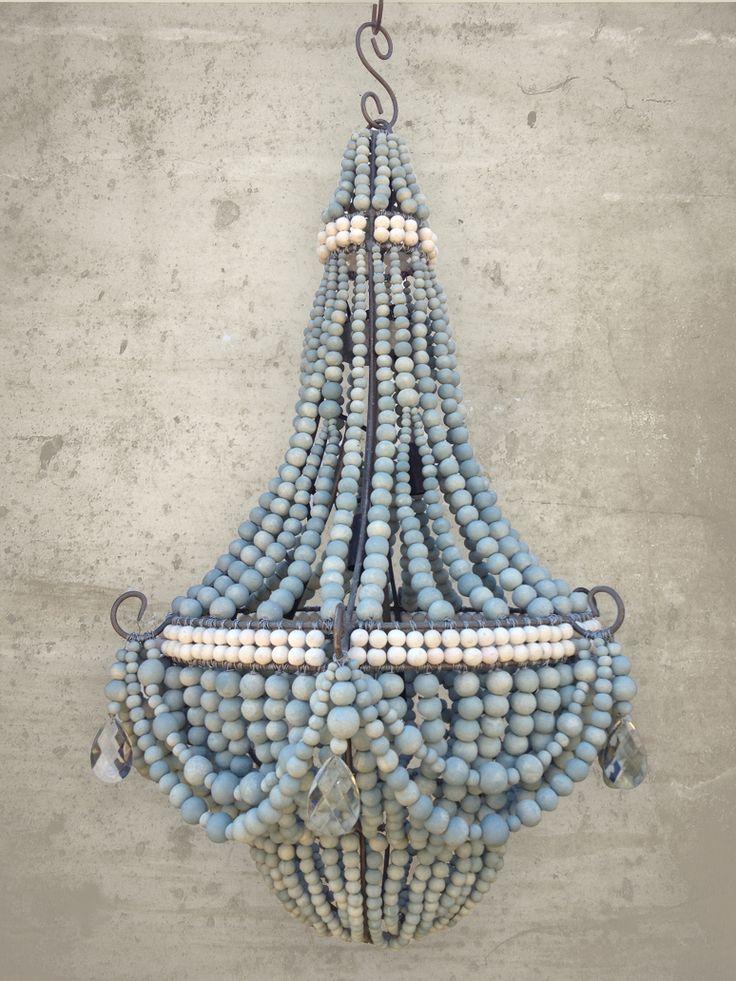 Hellooow Handmade Ceramic Bead Chandeliers. ORNATE design www.hellooow.co.za