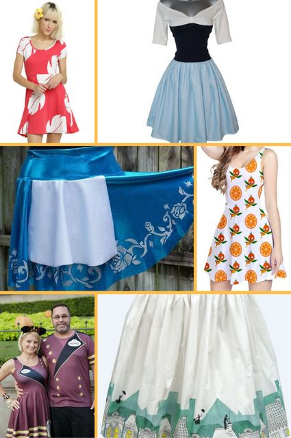 Unique gifts for Disney lovers - Disney dresses and skirts - Disney in your Day