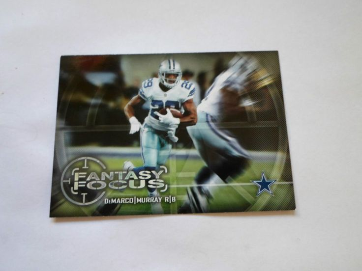 2014 TOPPS FANTASY FOCUS DeMARCO MURRY # FF-DM #DallasCowboys