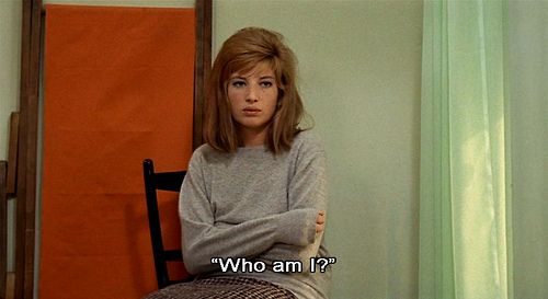 Monica Vitti in Antonioni's 'Red Desert'
