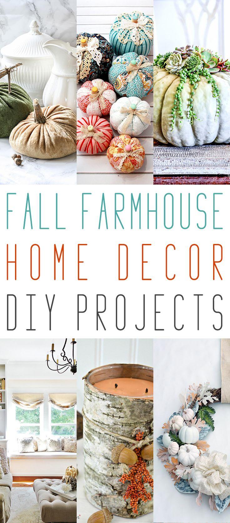 10 herfstboerderij Home Decor DIY-projecten