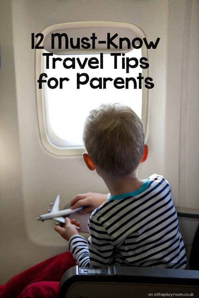 12 Must Know Travel Tips for Parents. Tips and hacks to make it easier travelling and flying with kids