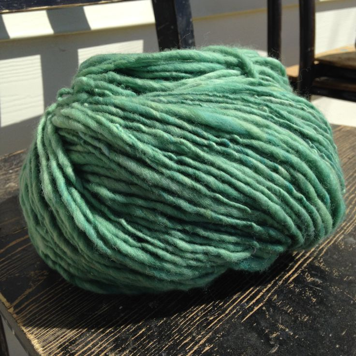 Handspun Yarn, thick and thin, singles, 7.8oz ~340 yards by SpinHeartSpin on Etsy